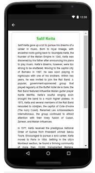 Salif Keita - Music And Lyrics screenshot 4