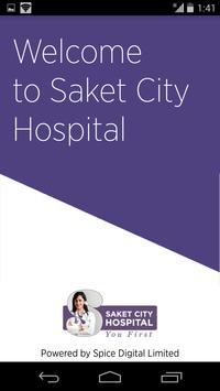 Saket City Hospital poster