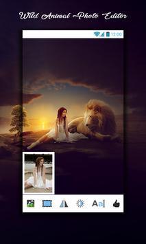 Wild Animal Photo Editor screenshot 13