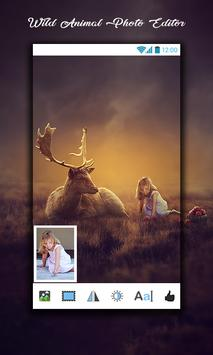 Wild Animal Photo Editor screenshot 3