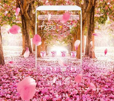 Cherry Blossom Theme screenshot 3
