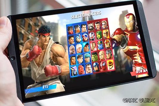 Guide Marvel Vs Capcom Infinite poster