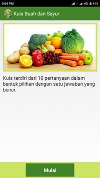 Manfaat Buah dan Sayur apk screenshot