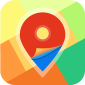 Directions Driving Map icon
