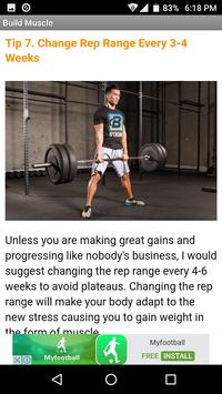 Build Muscle Burn Fat screenshot 2