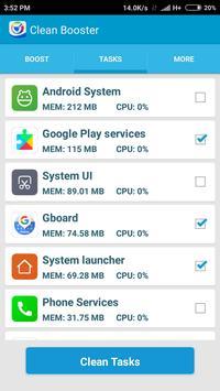Booster & Cleaner Pro screenshot 1