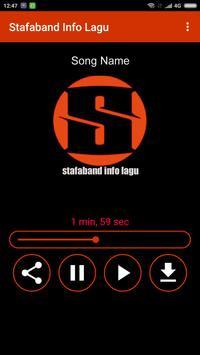 Stafaband Info Lagu screenshot 2