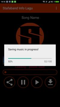 Stafaband Info Lagu screenshot 3