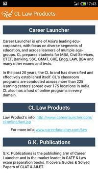 Law-CLAT Exam Guide screenshot 4