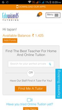 Eduwizards Tutoring apk screenshot