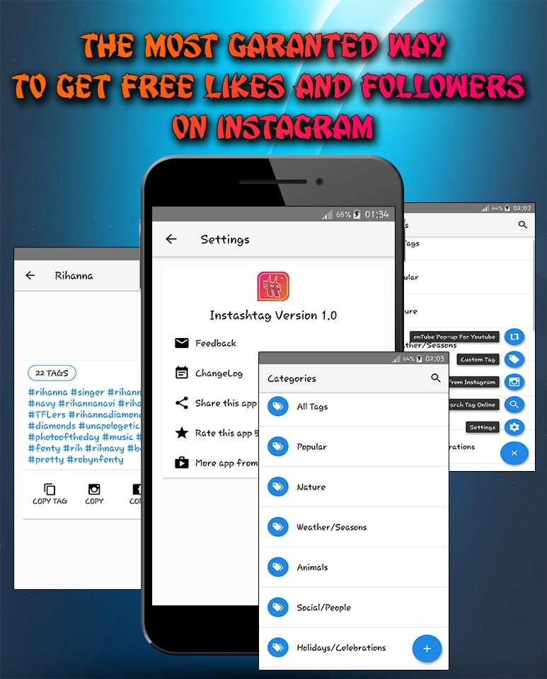 Free Instagram Followers and Likes for Android - APK Download