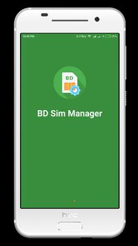 BD Sim Manager poster
