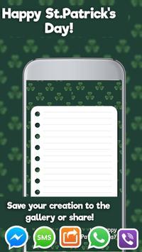 St. Patrick's Greeting Cards screenshot 5