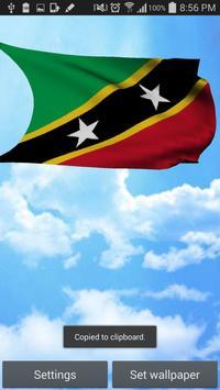 Saint Kitts and Nevis 3D Flag apk screenshot