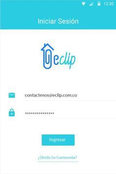 eClip clientes poster