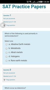 IIT JEE online Test screenshot 1