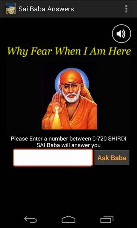 SAI BABA ANSWERS for Android - APK Download
