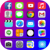 iLauncher Iphone X - iOS 11 Launcher And Iphone 7 icon