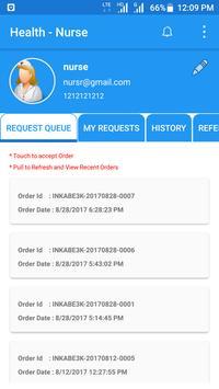 mHealth-Nurse App apk screenshot