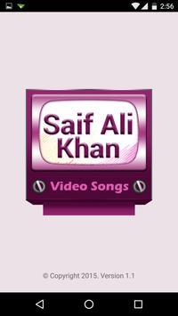 Saif Ali Khan Video Songs apk screenshot