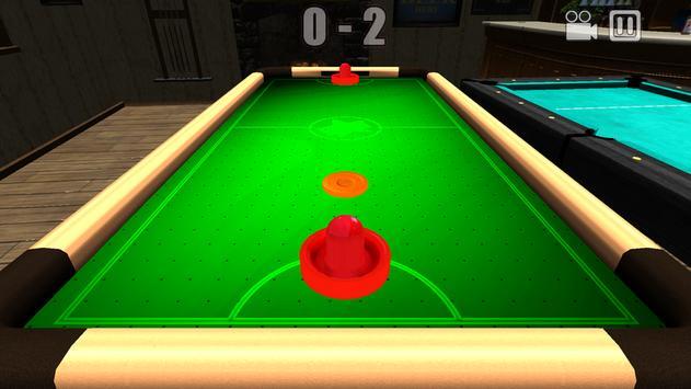 Glow Hockey 3 apk screenshot