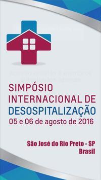 Simpósio de Desospitalização poster