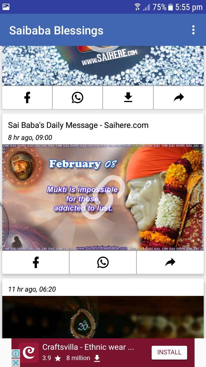 Sai Baba Blessings for Android - APK Download