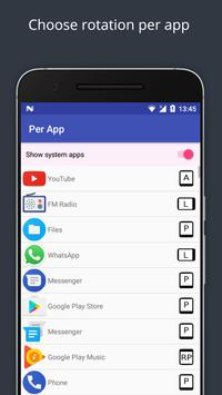 Smart Rotate: Screen Rotation Control apk screenshot