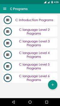 C Programs poster