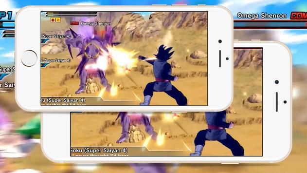 Saiyan Warrior: Raging Blast apk screenshot