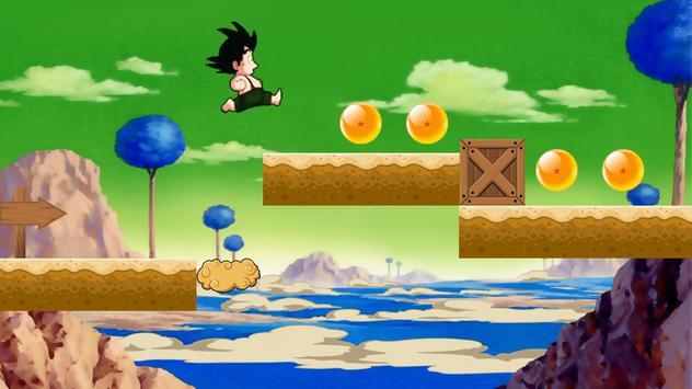 Bettle Saiyan Super Goku apk screenshot