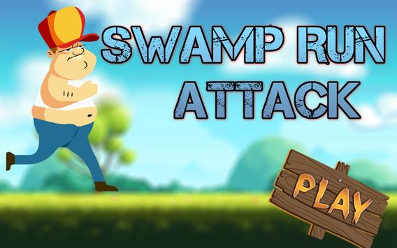 Swamp Run Attack poster