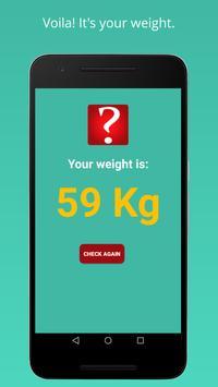 Weight Machine Scanner Prank screenshot 3