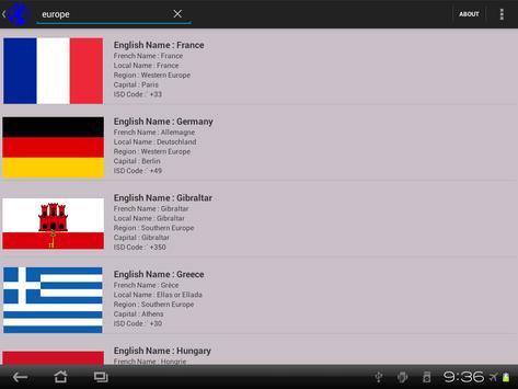 Flags of World apk screenshot