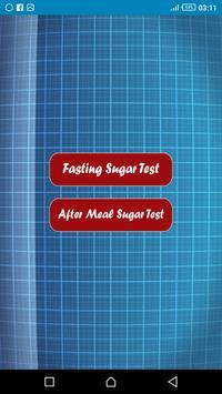 قياس السكر في الدم poster