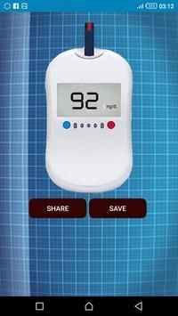 قياس السكر في الدم apk screenshot