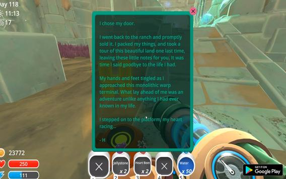 Guide: Slime Rancher apk screenshot