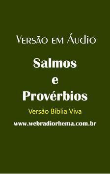 Salmos e Provérbios - Ouça poster