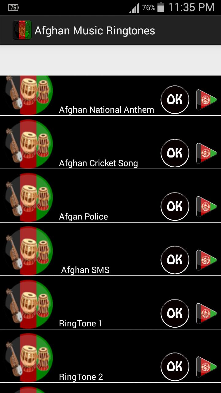 Afghan Music Ringtones for Android - APK Download