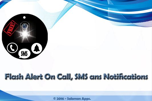 Flash Alert Call, SMS & Notify poster