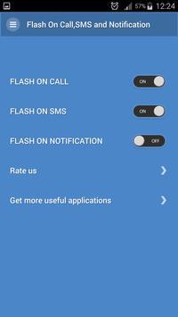 Flash Alert Call, SMS & Notify apk screenshot