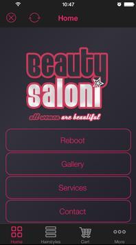 Salon sample app poster
