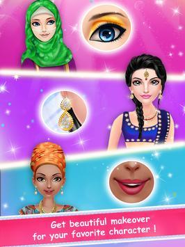 Crazy Girl Country Makeover - Girls DressUp Game apk screenshot