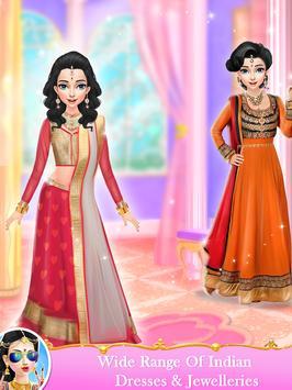 Indian Wedding Bride Fashion Dressup and Makeover screenshot 11