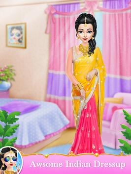 Indian Wedding Bride Fashion Dressup and Makeover screenshot 12