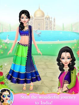 Indian Wedding Bride Fashion Dressup and Makeover screenshot 1
