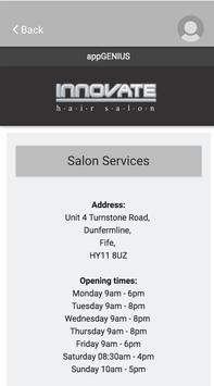 Innovate Salon screenshot 4