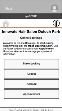 Innovate Salon screenshot 1