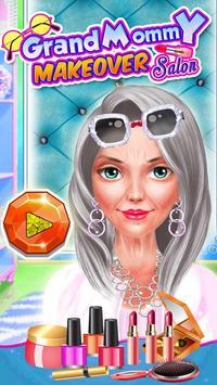 Grandmommy Makeover Spa Salon poster