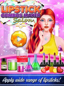 Lipstick Combos Maker Salon screenshot 5